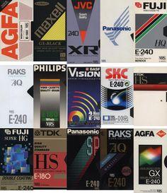 Blank VHS Cassette Packaging Design Trends: A Lost Art - Flashbak 90s Design, Retro Design, News Logo, Vhs Cassette, Vhs Tapes, Trending Art, Grafik Design, Graphic Design Inspiration, Packaging Design