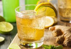 Quick ginger beer