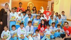 TARGET - USA team has organize an event where they invited students from HOPE Zia school for delivering health awareness session in which personal hygiene and healthy habits were discussed.
