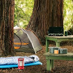 Useful Camping Lists - prepare, equipment, supplies, checklists advice and ideas.