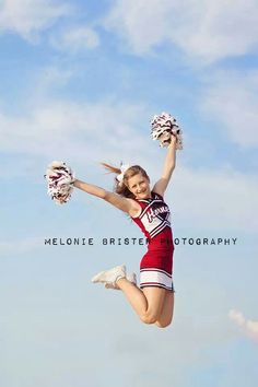 Cheerleader - I love the jump with nothing but sky as the background. I need to try this one.