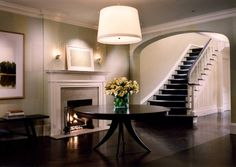 A foyer doesn't get much better than this! East 73rd Street Town House, New York