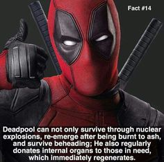 """Why is Deadpool so much better than most super-heros?"" Well here you go bitches this is why"