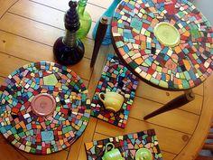 fiesta mosaic tile art | Flickr - Photo Sharing!