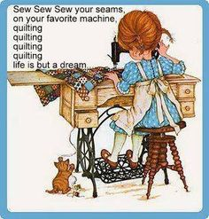 Sew Sew Sew your Seams Found on Facebook - Quilters On The Go