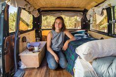 Roll with Amanda in a #Toyota Van  #vanlife