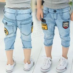 Aliexpress.com : Buy Children Jeans Pant Mid Pant Summer Pant Kids Jeans Pants Korean Children Clothes 2013 New from Reliable Children Jeans suppliers on beike's store
