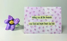 "Quote Magnet   "" Wishing you all the goodness your kind and tender heart can hold"""