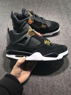 Wholesale Cheap Air-Jordan-Retro-4 Gold Black - www.hoopfetch. 38423d330