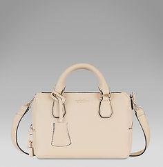 The Mini Dover in cream French calf leather. #SmythsonAW14 http://www.smythson.com/cream-dover-mini-crossbody.html