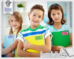 ¡Que no se te pasen! En #Blukau tenemos paquetes de etiquetas para todos tus útiles escolares.