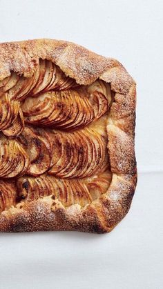 Salted-Butter Apple Galette with Maple Whipped Cream Recipe - Oh yes. Informations About Salted-Butter Apple Galette with Maple Whipped Cream Recipe P - Recipes With Whipping Cream, Cream Recipes, Tart Recipes, Sweet Recipes, Dessert Recipes, Cooking Recipes, Fruit Recipes, Apple Recipes, Healthy Sweets