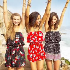 Hollister Rompers are the perfect throw-on-and-go-look.