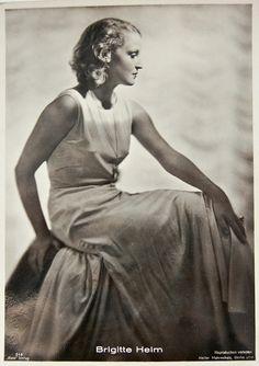"Brigitte Helm    German actress, best remembered as the star of Fritz Lang's ""Metropolis"" (1927)."