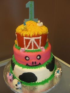 farm birthday By ccenter1 on CakeCentral.com