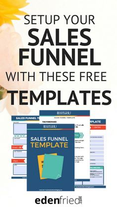 Free sales funnel templates. How to Setup your Sales Funnel - automated sales funnel. Passive income.