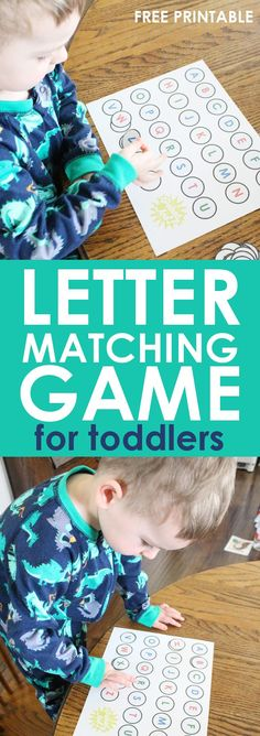TEACHING TODDLERS LETTERS: The alphabet can seem like an overwhelming thing to have to teach, but teaching toddlers letters can be fun and easy with a few tips and tricks to help you along the way. This free alphabet activity is a great way to get started!
