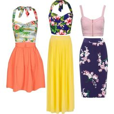 CUTE TOP LIKE THAT WITH SHORTS or grasss  skirt with couuntetset bra :)