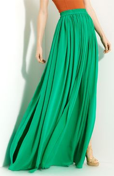 Yigal Azrouel | Pleated maxi skirt..Love it