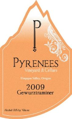 2009 Pyrenees Gewurztraminer 750 mL >>> You can find more details by visiting the image link. (This is an affiliate link) Oregon, Sauvignon Blanc, Pyrenees, Red Wine, Alcohol, Learning, Image Link, White Wines, Wine Labels