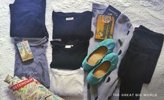 Women are always agonizing over what to pack, what to bring, how many of each item, which colors and so …