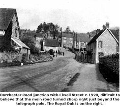 Dorchester Road, Upwey, Weymouth Weymouth Harbour, Weymouth Dorset, Portland Dorset, Lulworth Cove, Old Street, Historical Pictures, Old Photos, Maps, Places To Visit