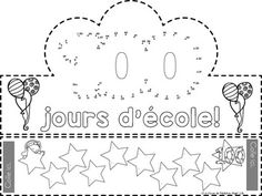 FREE 100th Day of School Crown in French (Le... by La classe de Madame Angel | Teachers Pay Teachers