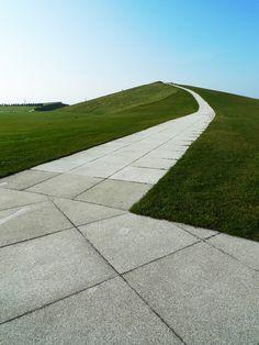 onsomething: landscape      onsomething    Isamu Noguchi | Moerenuma Park, 1988 - 2005 Sapporo