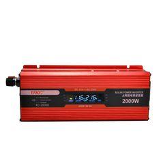 Auto Power Inverter Solar Converter Portable DC12V zu AC220V 4USB Netzteil Transformator