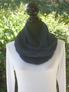 A personal favorite from my Etsy shop https://www.etsy.com/listing/104937581/infinity-eternity-cowl-neck-warmer