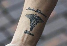 Medic Alert Tattoo