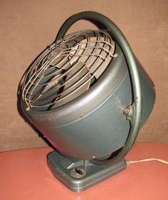 Vtg 1950's Mimar Fan Atomic Industrial Fan
