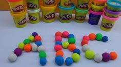 Alphabet (ABC) Color Play Doh - Surprise Toys And Plays