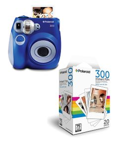 Polaroid Blue Analog Instant Camera  20-Pack of Film