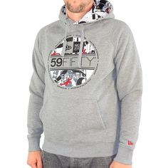 New-Era-SA-Visor-PO-Hoodie-Herren-Kapuzenpullover-Farbe-schwarz-30775