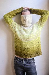 Gather a colorful array of scraps and stash yarns for this chunky quick-to-knit pullover. The top down sweater begins with a cozy ribbed turtleneck followed by spiral yoke increases. The rest of the sweater is knit in stockinette stitch so you can enjoy improvisational color changes. Experiment with a tonal color palette or go crazy with a whole rainbow of colors! Don't be afraid to combine fuzzy mohair yarns with wool and silk blends. At three stitches to the inch, this sweater will quickly…