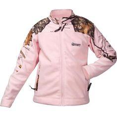 Rocky Brands Ladies Pink Camouflage Pink Fleece Winter Jacket | ChickSaddlery.com