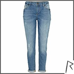 #RihannaforRiverIsland Authentic wash Rihanna slim jeans. #RIHpintowin click here for more details >  http://www.pinterest.com/pin/115334440431063974/