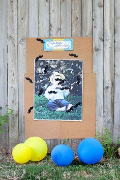 Little Man birthday party! Pin the stache on the baby (and other great ideas!)