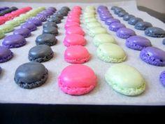 mini macarons ,recipe and DIY !
