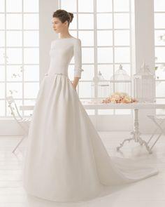 Minimalistische Hochzeitskleider 2016: Einfach und schick in's neue Hochzeitsjahr starten!