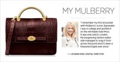 Shop this exclusive new version of Mulberry's Bayswater bag exclusively at #ShopBAZAAR.