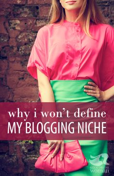 What is your blog's niche? is a common question for bloggers. All our posts should fit inside that niche. But should we define our blog's niche?