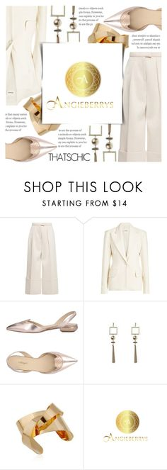 """""""ANGIEBERRYS"""" by celine-diaz-1 ❤ liked on Polyvore featuring Delpozo, Khaite, Magli By Bruno Magli and Angieberrys"""