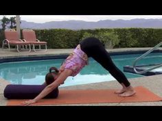 Simple Yoga Pose To Open Your 3rd Eye   6th Chakra Healing Yoga - YouTube