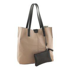 Handbag-019TAUPEBLACK $85.00 on Ozsale.com.au