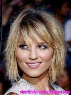 dianna-agron-layered-choppy-hairstyle.jpg (300×401)