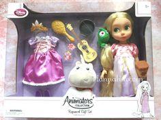 Disney+Store+Deluxe+Rapunzel+Doll+Gift+Set+Animators'+Collection+NEW+
