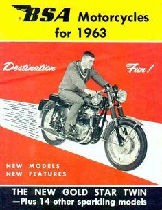 vintage motocycle advert - Google Search