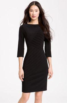 Little black dress.